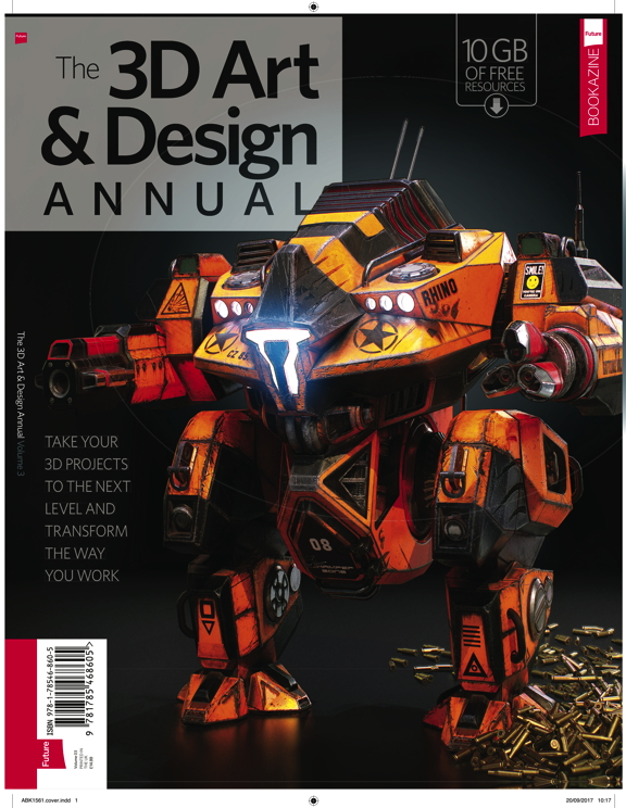 3D Art & Design Annual – Volume 3<