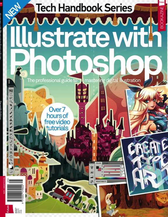 Illustrate with Photoshop Genius Guide Seventh Edition<