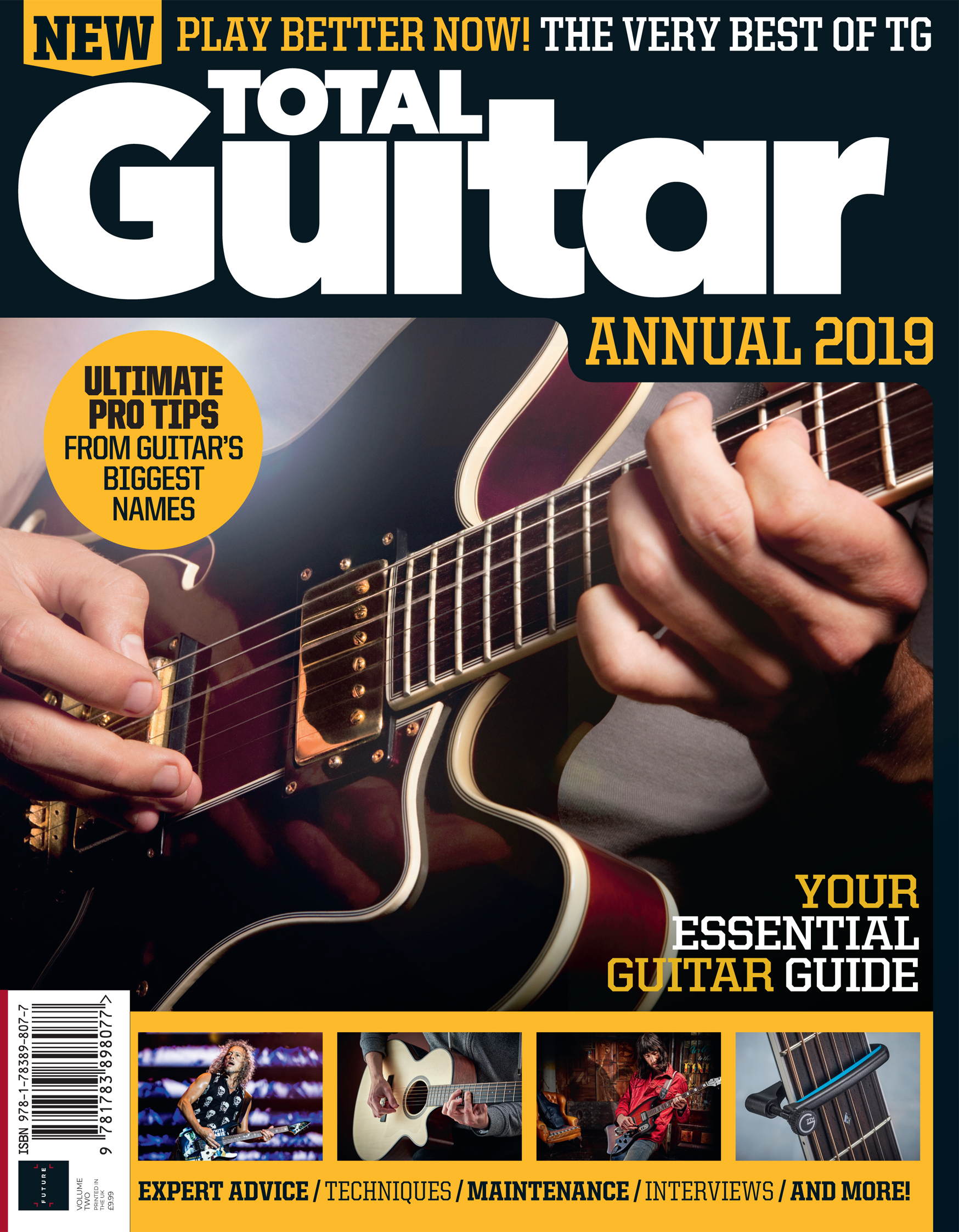 Total Guitar Annual 2019<