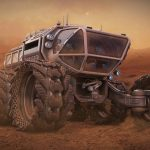 Model a Mars ranger with Modo