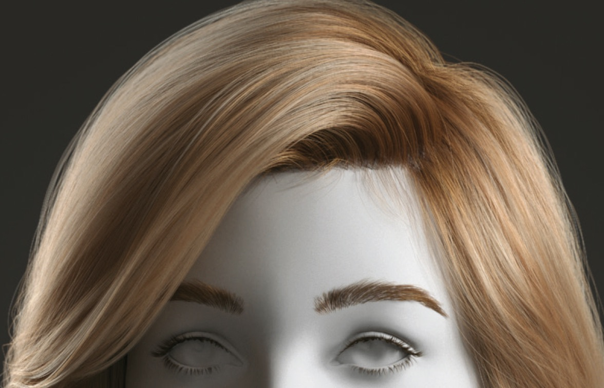 Create hair in 3ds Max and Ornatrix