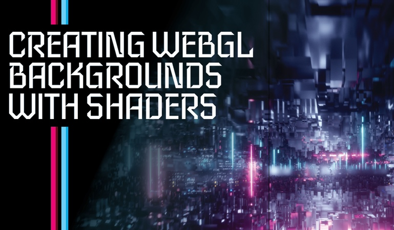 Create WebGL backgrounds with Shaders