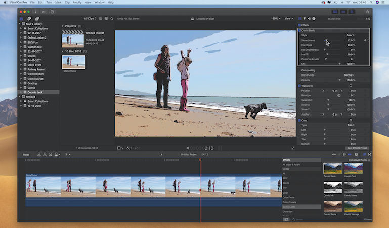 Turn videos into animation with Final Cut