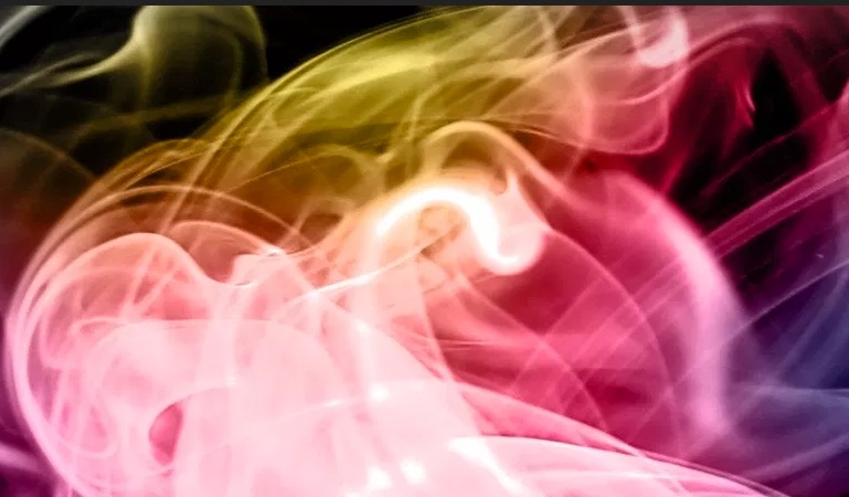 109 Abstract smoke art brushes