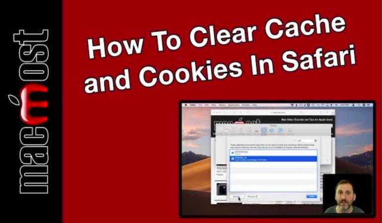 How to clear cache and cookies in Safari