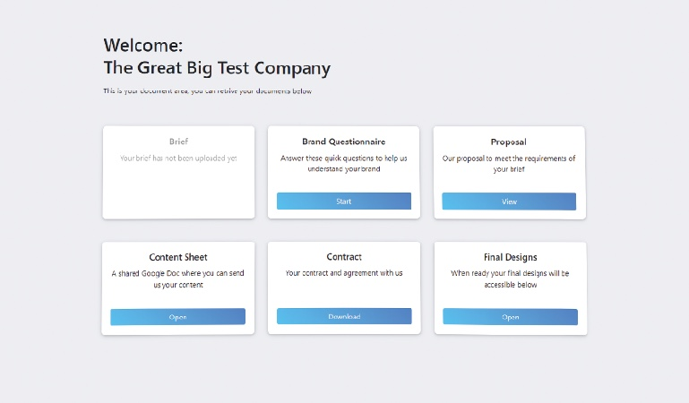 Build a client portal with WordPress