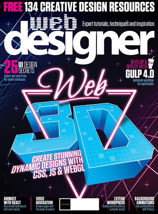 Cover of Web Designer Issue 288