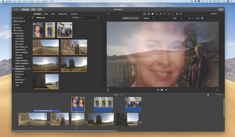 Down memory lane with iMovie