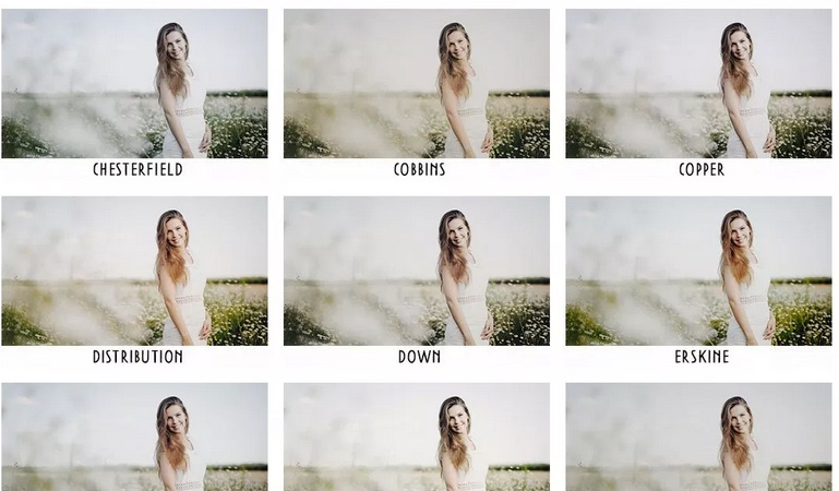 50 Light and Airy presets