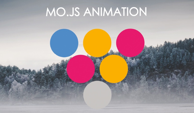 Animate with the mo.js library
