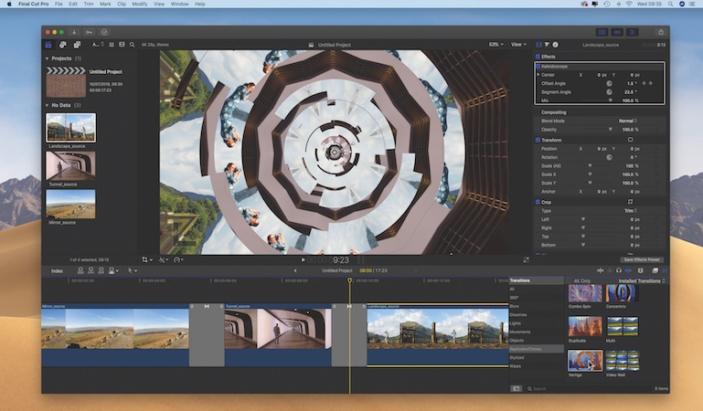 Create a surreal title sequence in Final Cut Pro X