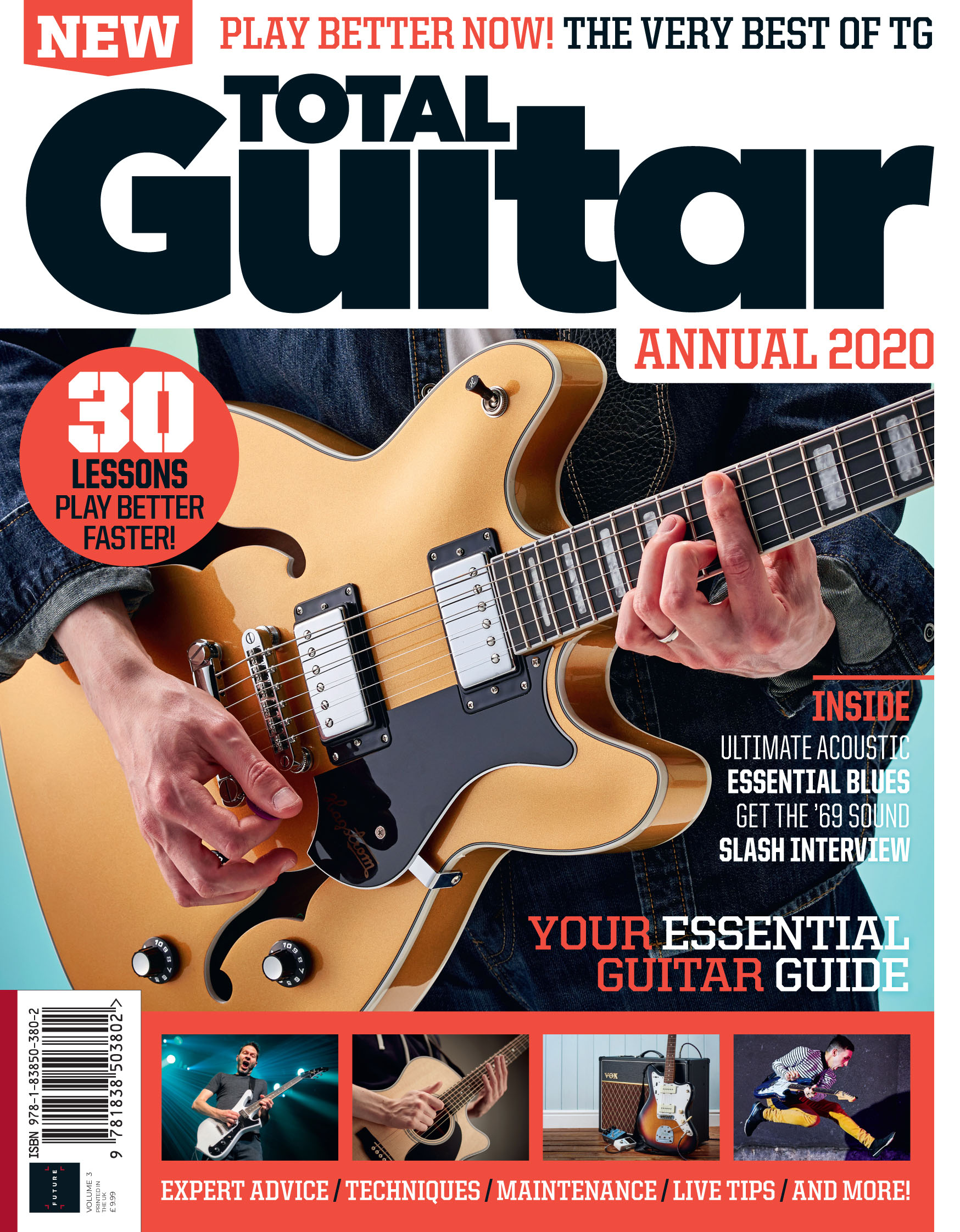 Total Guitar Annual 2020<