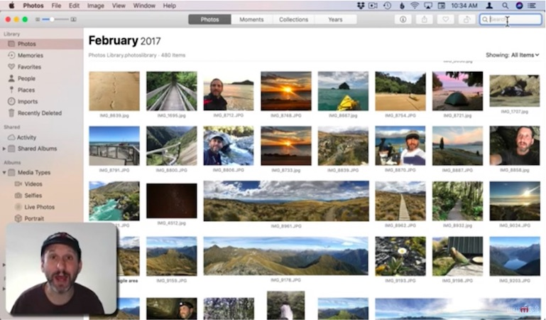 Search your photo library for objects