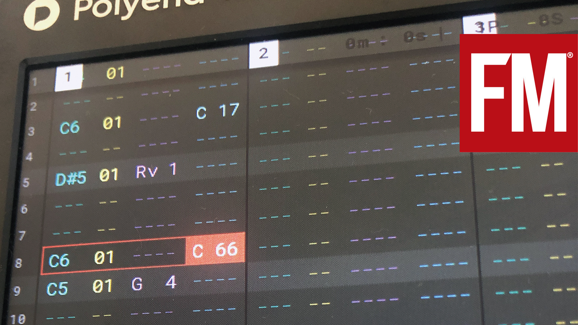 Sequencing basics with Polyend Tracker