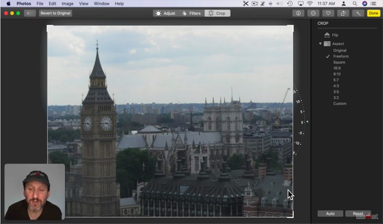 The basics of editing in the Photos app on your Mac