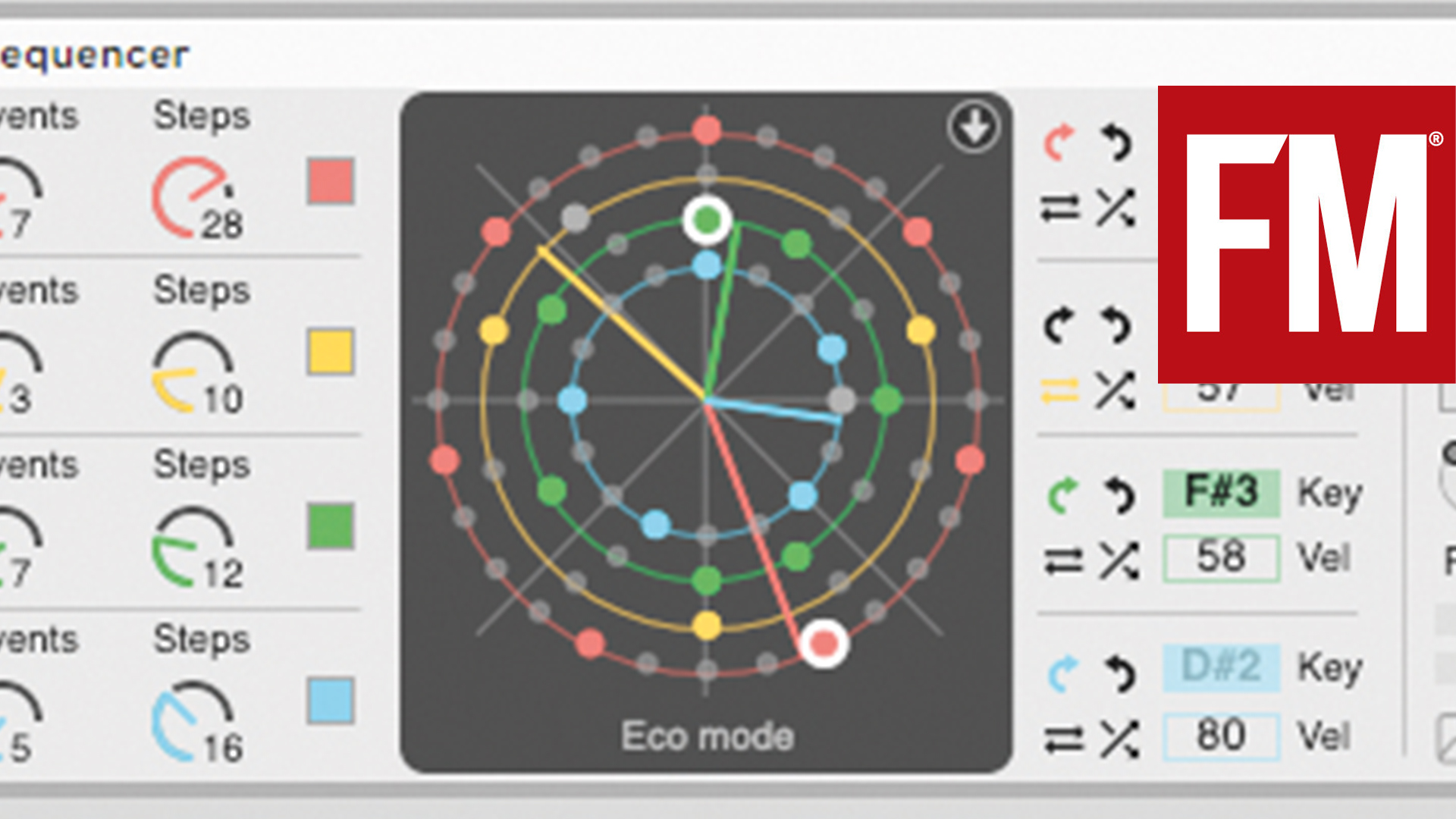 Creating an ambient melody with Euclidean sequencing