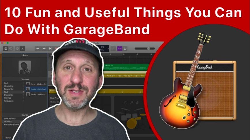 10 Fun and Useful Things You Can Do With GarageBand For Mac