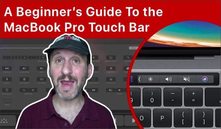 A Beginner's Guide To the MacBook Pro Touch Bar