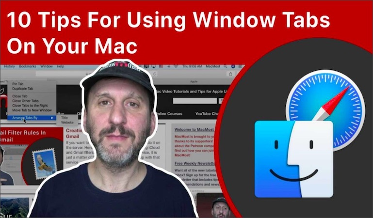 10 Tips For Using Window Tabs On Your Mac