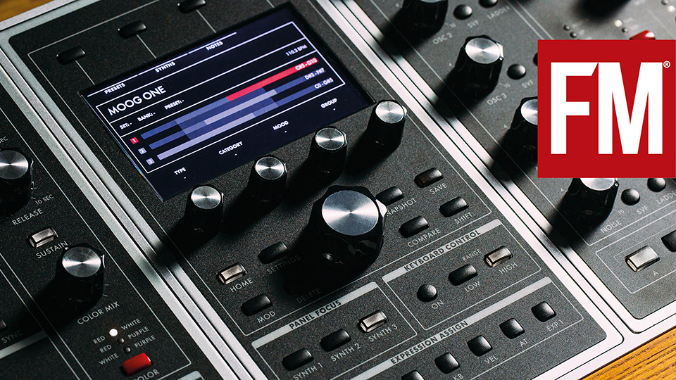 Moog One – introducing our demo presets