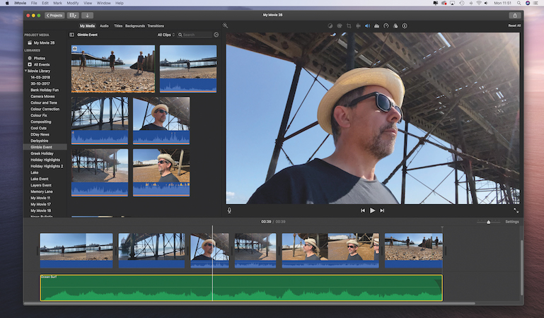 Supercharge your video selfies in iMovie