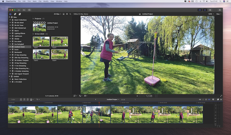 Use the new Smart Conform feature in Final Cut