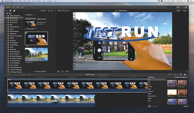 Edit using Photoshop documents in Final Cut