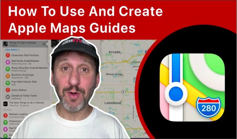 How To Use And Create Apple Maps Guides