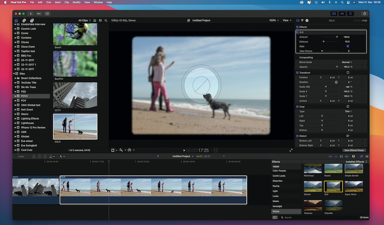 Just add water – liquify your landscape images in Final Cut
